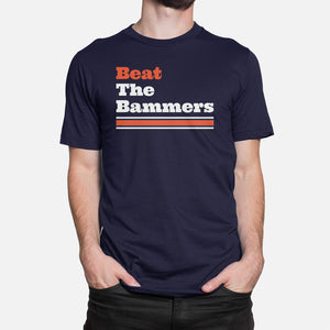 Beat The Bammers T-Shirt, Navy