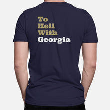 "Load image into Gallery viewer, ""What's The Good Word? To Hell With Georgia"" T-Shirt"