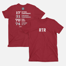 Load image into Gallery viewer, RTR Football Stats T-Shirt