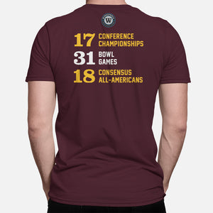 STATE Football Stats T-Shirt (Arizona)