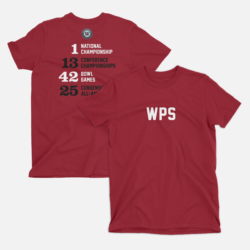 WPS Football Stats T-Shirt