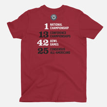 Load image into Gallery viewer, WPS Football Stats T-Shirt