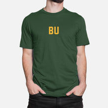 Load image into Gallery viewer, BU Football Stats T-Shirt, Green
