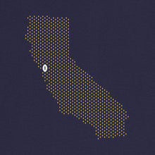 Load image into Gallery viewer, Berkeley, California Football Map T-Shirt