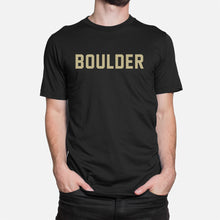 Load image into Gallery viewer, Boulder Football Stats T-Shirt