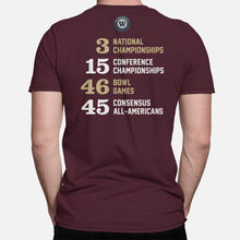Load image into Gallery viewer, STATE Football Stats T-Shirt (Florida)