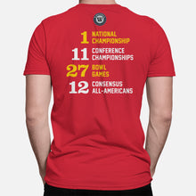Load image into Gallery viewer, College Park, Maryland Football Map Stats T-Shirt