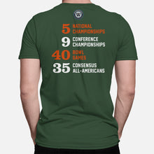 Load image into Gallery viewer, The U Football Stats T-Shirt, Green