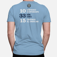 Load image into Gallery viewer, Chapel Hill Football Stats T-Shirt