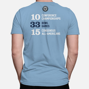 Chapel Hill Football Stats T-Shirt