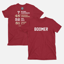 Load image into Gallery viewer, Boomer Football Stats T-Shirt