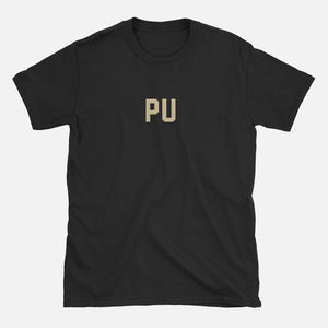 PU Football Stats T-Shirt