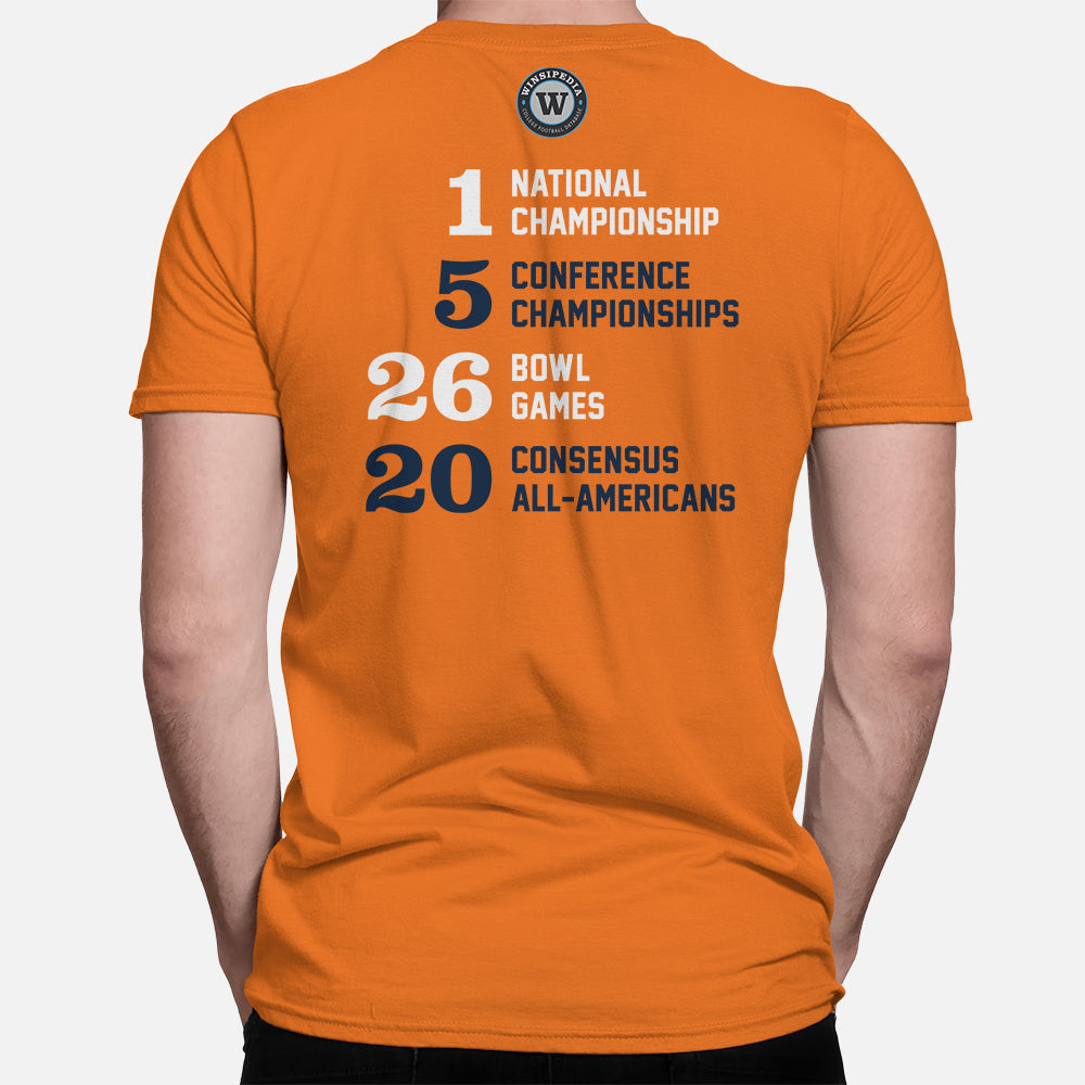 premium selection 8f9ea eb31b Syracuse, New York Football Map Stats T-Shirt, Orange