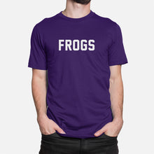 Load image into Gallery viewer, Frogs Football Stats T-Shirt, Purple