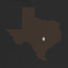 Load image into Gallery viewer, Austin, Texas Football Map T-Shirt, Black