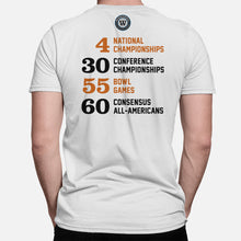 Load image into Gallery viewer, Austin, Texas Football Map Stats T-Shirt, White