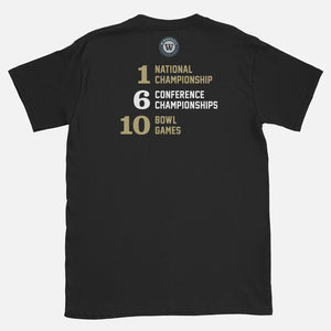 CENTRAL Football Stats T-Shirt