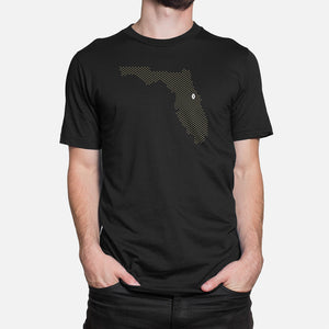 Orlando, Florida Football Map T-Shirt