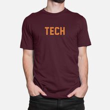 Load image into Gallery viewer, TECH Football Stats T-Shirt (Virginia), Maroon