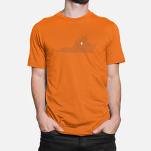 Load image into Gallery viewer, Charlottesville, Virginia Football Map T-Shirt, Orange