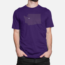 Load image into Gallery viewer, Seattle, Washington Football Map Stats T-Shirt