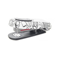 PraxxisPro Office Essentials - Aria Mini Stapler Travel Essentials Two Pack - School Print