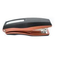 PraxxisPro Office Essentials - Basileus Full-Strip Ergonomic Grip Handheld Desktop Stapler - Crystal Copper