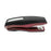 PraxxisPro Office Essentials - Basileus Full-Strip Ergonomic Grip Handheld Desktop Stapler - Merlot
