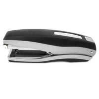 PraxxisPro Office Essentials - Basileus Full-Strip Executive Desktop Stapler - Glacier Grey