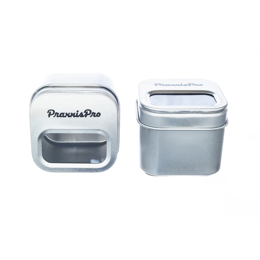 PraxxisPro Office Essentials - Set of Two Magnetic Paperclip Holders