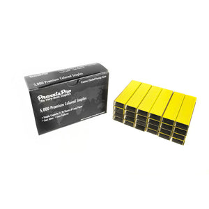 PraxxisPro Office Essentials - Premium Standard Yellow Staples