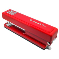 The Oregon Stapler, our red desktop stapler is proudly made in America.