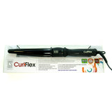 "CURLFLEX ~ 1"" Tapered Curling Wand 
