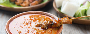 Indonesian Chicken and Peanut Sate