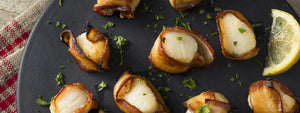 Prosciutto Wrapped Scallops