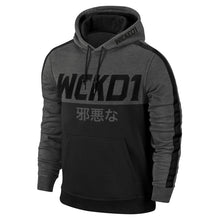 Load image into Gallery viewer, HOODIE SHOGUN - GRAY & BLACK