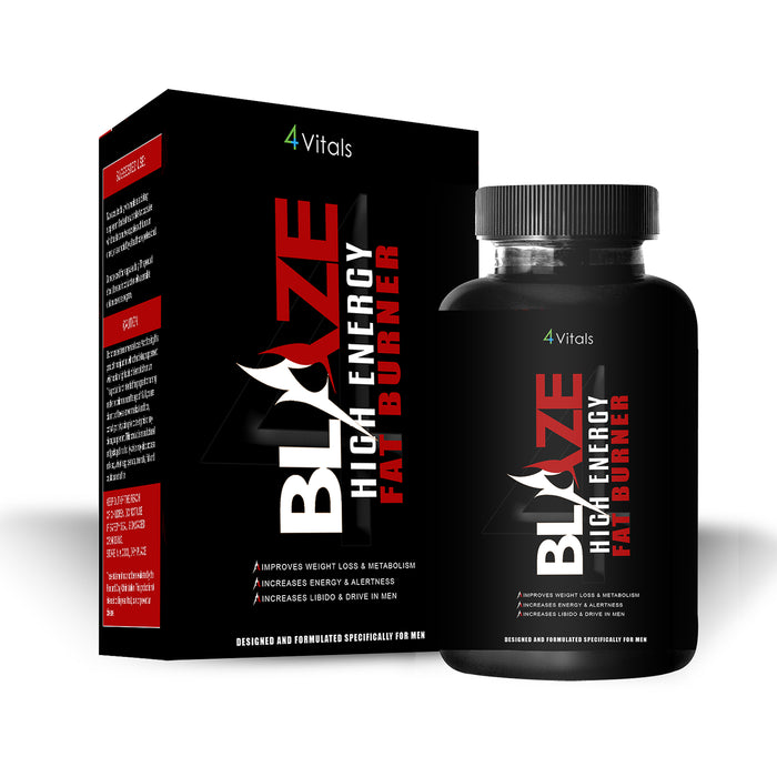 Blaze Fat Burner - #1 Fat Burner for Men. BlazeFatburner.com