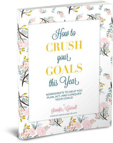 How to CRUSH Your Goals workbook