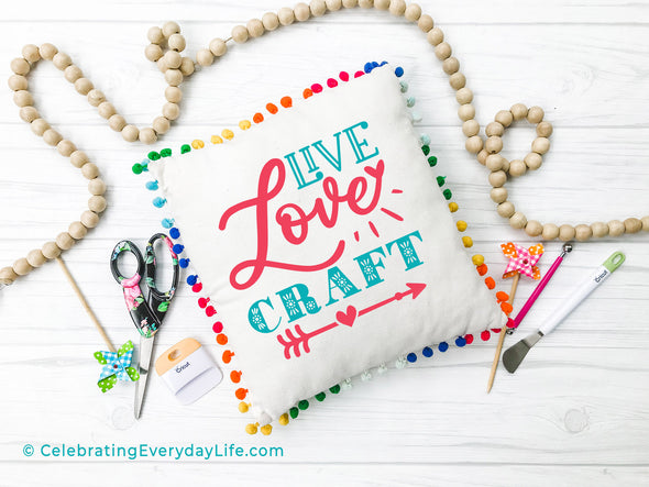 Live Love Craft SVG