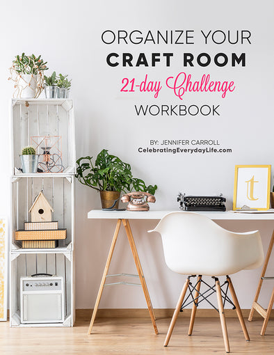 Organize Your Craft Room workbook