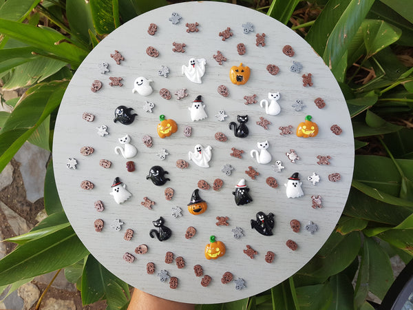 Halloween Resin Earrings