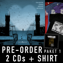 Load image into Gallery viewer, Harry Gump – Album-Pre-Order-Paket 1 inkl. Restposten-Shirt
