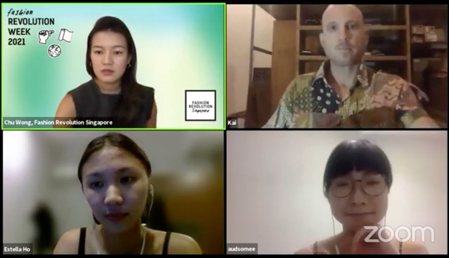 Ethical Fashion Discussion with Fashion Revolution Singapore