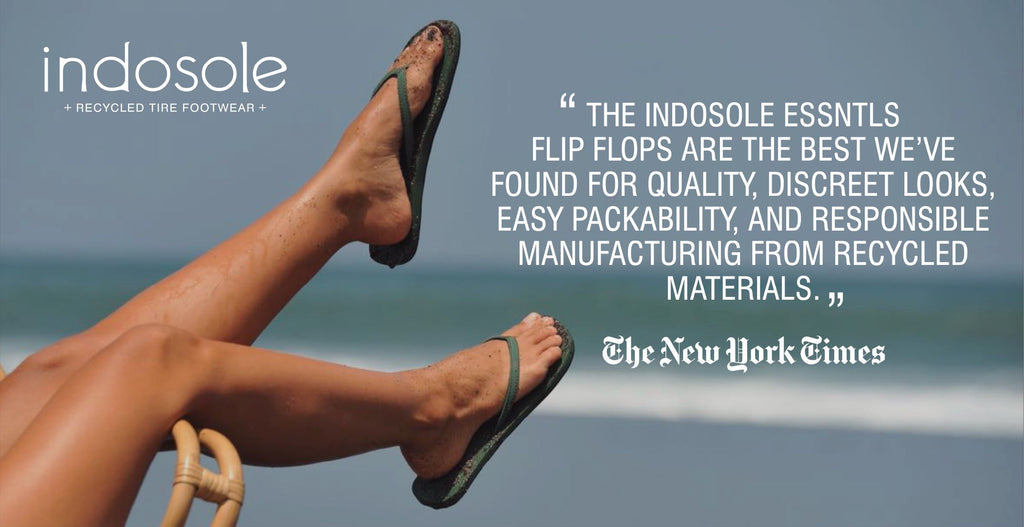 New York Times review of Flip Flops and Beach Gear