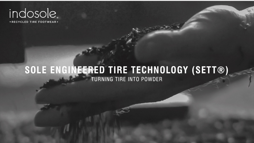 Indosole Sole Engineered Tire Technology (SETT) Circular economy