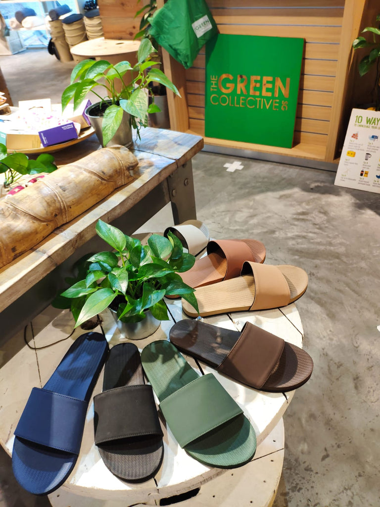 Sustainable slippers near me Singapore City Hall - Indosole at the Green Collective SG