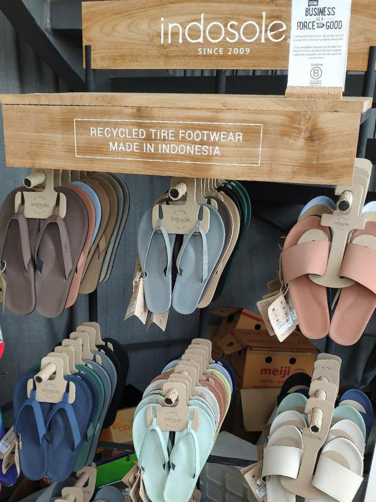 Sustainable Flip Flops near me Singapore Marina One - Indosole at the Social Space