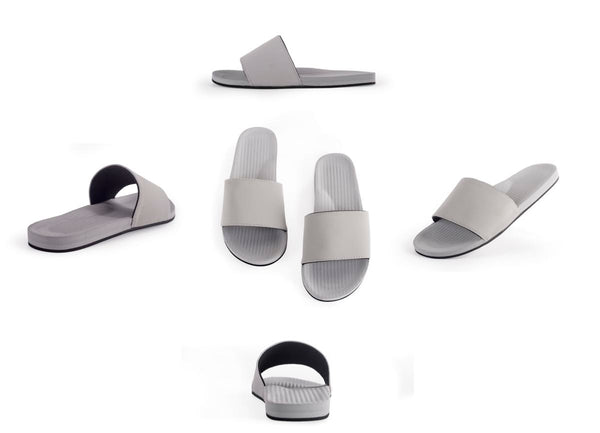 Indosole Grey Pool Slides