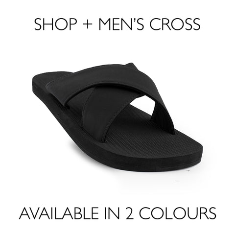 Mens sandals for wearing at home