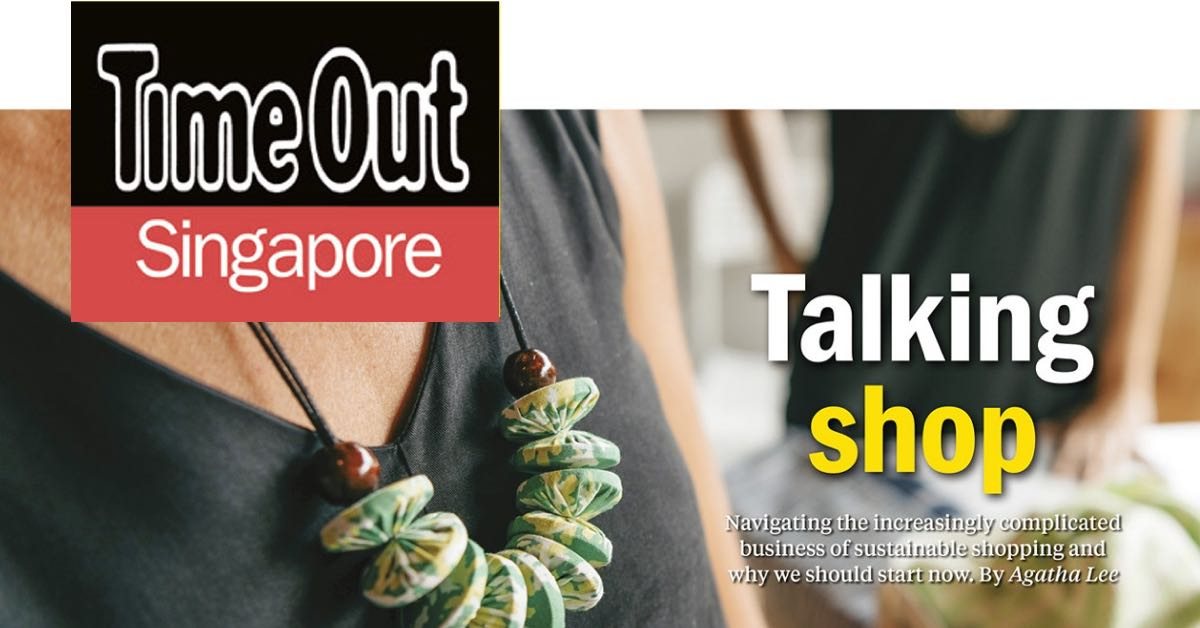 TimeOut Singapore features sustainable shopping and Indosole Flip Flops & Slides